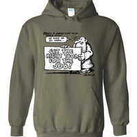 Mr. Natural Right Tool for the Job - Hoodie