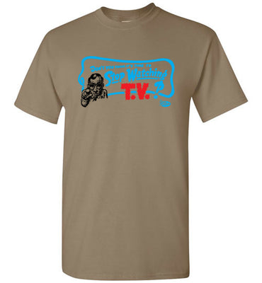 Stop Watching TV - Men's Short Sleeve T-Shirt