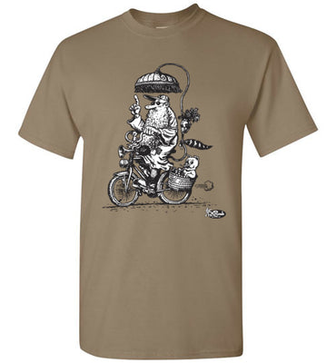 Mr. Natural Touring - Men's Short Sleeve T-Shirt
