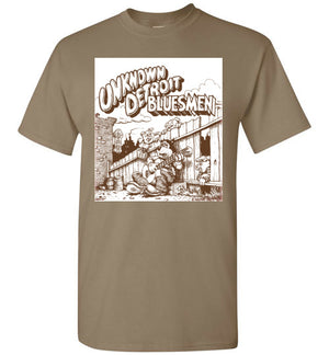 The Unknown Detroit Blues men - Men's Short Sleeve T-Shirt