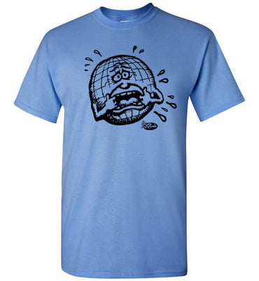 Crying Earth - Men's Short Sleeve T-Shirt