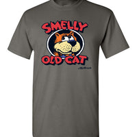 Smelly Old Cat - Men's Short Sleeve T-Shirt