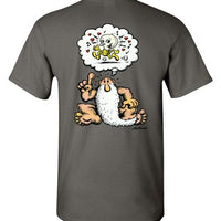 Mr. Natural's Brilliant Idea - Men's Short Sleeve T-Shirt