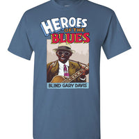 Blind Gary Davis - Men's Short Sleeve T-Shirt
