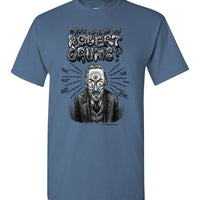 Who's Afraid of Robert Crumb - Men's Short Sleeve T-Shirt