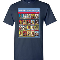 Heroes of the Blues Poster - Men's Short Sleeve T-Shirt