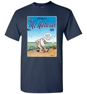 Mr. Natural Comic Book Cover No. 3 - Men's Short Sleeve T-Shirt