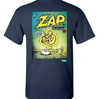Zap Comix Comicbook Cover No. 0 - Men's Short Sleeve T-Shirt