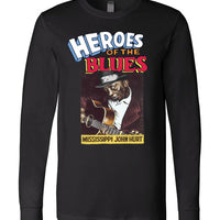 Mississippi John Hurt - Men's Long Sleeve T-Shirt