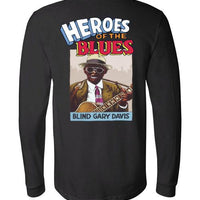 Blind Gary Davis - Men's Long Sleeve T-Shirt