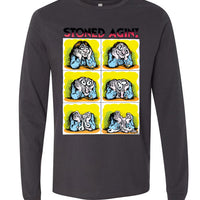 Stoned Agin' - Men's Long Sleeve T-Shirt
