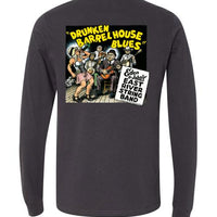 Drunken Barrel House Blues - Men's Long Sleeve T-Shirt