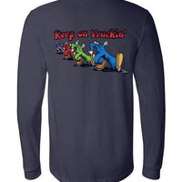 Robert Crumb's Keep On Truckin'  - Men's Long Sleeve T-Shirt