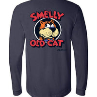 Smelly Old Cat - Men's Long Sleeve T-Shirt