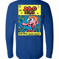 Zap Comix Cover No. 2 - Men's Long Sleeve T-Shirt
