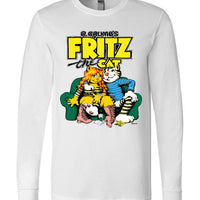 R. Crumb's Fritz the Cat - Men's Long Sleeve T-Shirt