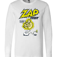 Zap Comix Plugged In - Men's Long Sleeve T-Shirt