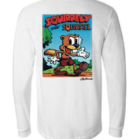 Squirrelly the Squirrel - Men's Long Sleeve T-Shirt