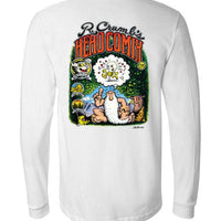 R. Crumb's Head Comix Cover - Men's Long Sleeve T-Shirt