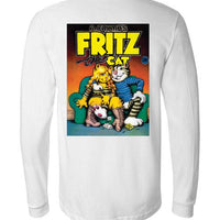 Fritz the Cat Cover - Men's Long Sleeve T-Shirt