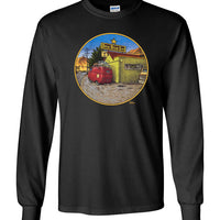 VW Bus Road Trip - Men's Long Sleeve T-Shirt