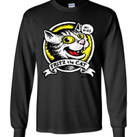 Fritz the Cat Hi Kids - Men's Long Sleeve T-Shirt