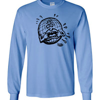 Crying earth - Men's Long Sleeve T-Shirt