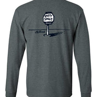 Empty Space - Men's Long Sleeve T-Shirt