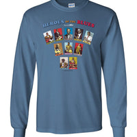 Heroes of the Blues Fan - Men's Long Sleeve T-Shirt