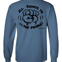 Power to the People - Men's Long Sleeve T-Shirt