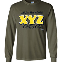 XYZ Comics - Men's Long Sleeve T-Shirt