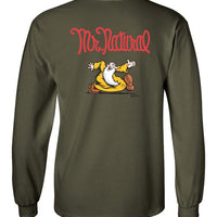 Mr. Natural - Double Print - Men's Long Sleeve T-Shirt