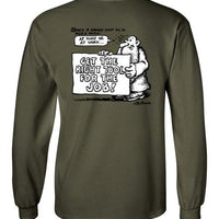 Mr. Natural The Right Tool for the Job - Men's Long Sleeve T-Shirt