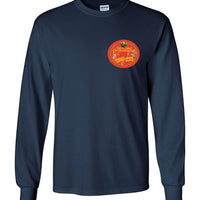Drunken Barrel House Blues - Double Print - Men's Long Sleeve T-Shirt