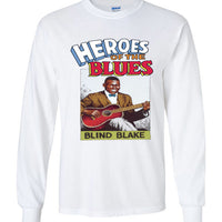 Blind Blake - Men's Long Sleeve T-Shirt