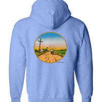 Delta Blues Country - Double Print - Zip Hoodie