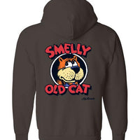 Smelly Old Cat - Hoodie