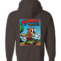 Squirrely the Squirrel - Hoodie