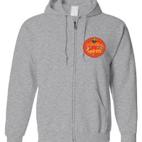 Drunken Barrel House Blues - Double Print - Zip Hoodie