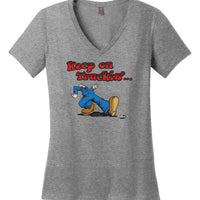 Keep On Truckin' / Womens T Shirt
