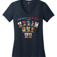 Heroes of the Blues Fan - Women's T-Shirt
