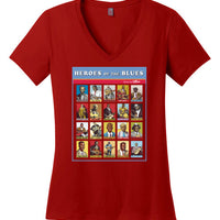 Heroes of the Blues Poster - Women's T-Shirt