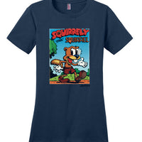 Squirrelly the Squirrel - Women's T-Shirt