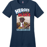 Blind Gary Davis - Women's T-Shirt