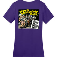 Drunken Barrel House Blues - Double Print - Women's T-Shirt