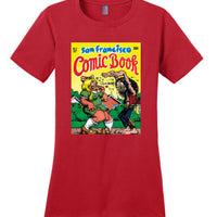 San Francisco Comic Book - Women's T-Shirt