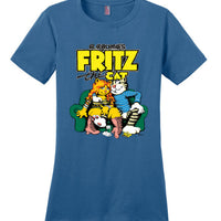 R. Crumb's Fritz the Cat - Women's T-Shirt