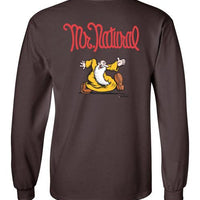 Mr. Natural Just Passin' Thru - Men's Long Sleeve T-Shirt