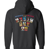 Heroes of the Blues Fan - Hoodie