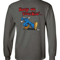 Keep On Truckin' - Men's Long Sleeve T-Shirt